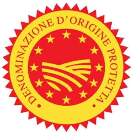 DOP - Denominazione di Origine Protetta, czyli produkt posiadajacy Certyfikat Chronionego Miejsca Pochodzenia
