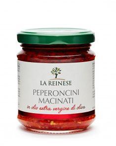 Peperoncini macinati in olio extravergine di oliva