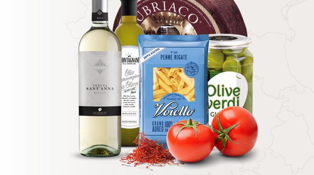 włoskie produkty spożywcze dostawa