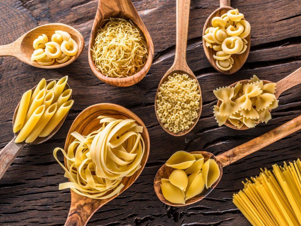 makaron włoski rodzaje
