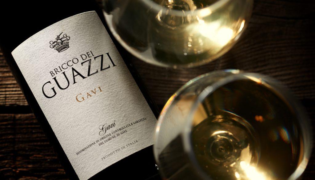 włoskie białe wino bricco dei guazzi