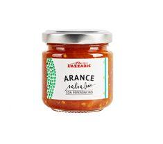 Salsa dolce-piccante di Arance con Senape e Peperoncino BIO