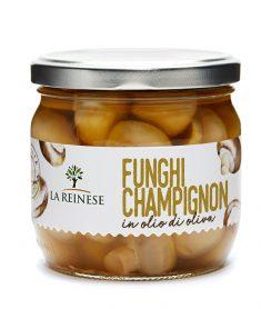 Funghi Champignon in olio di oliva